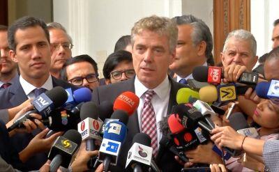 Ambasador Niemiec w Wenezueli został wydalony z tego kraju w marcu z Wenezueli