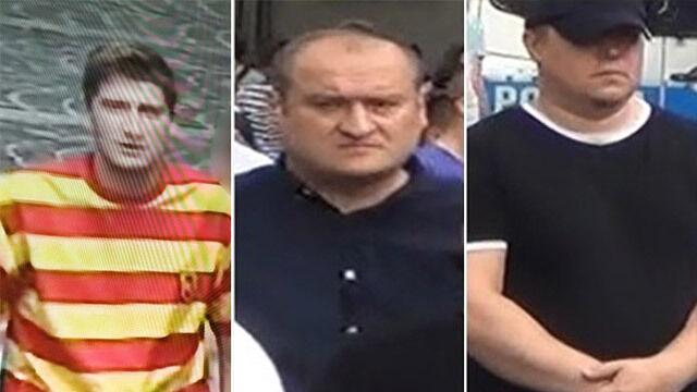 Policja szuka tych mężczyzn  po wydarzeniach w Białymstoku
