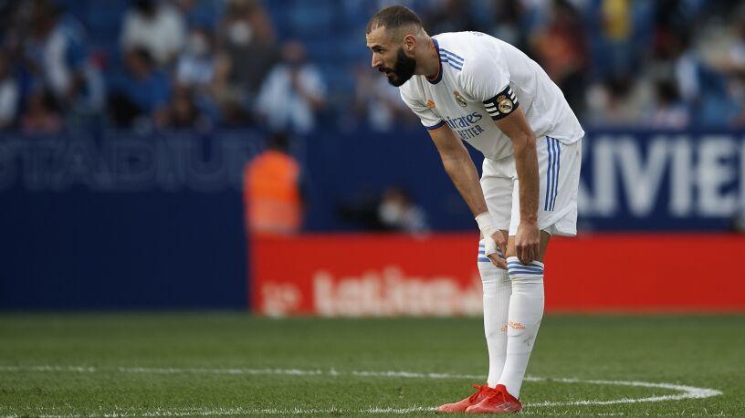 Benzema nie trenował z drużyną. Problem Realu przed El Clasico