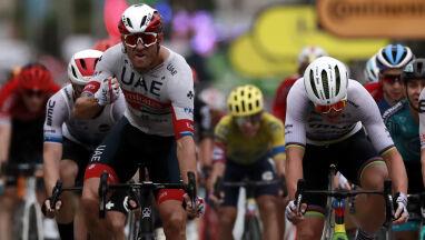 Trudne warunki na pierwszym etapie Tour de France. Wielka moc Kristoffa
