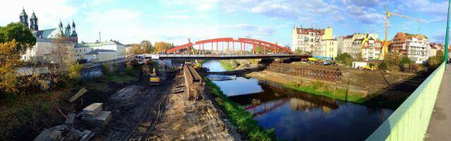 Most po zamontowaniu w nowym miejscu