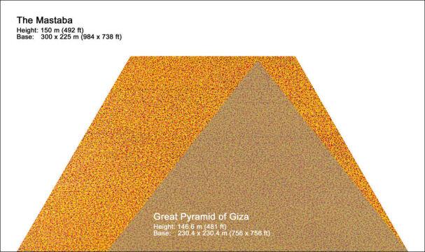 Mastaba ma zrobić konkurencję Wielkiej Piramidzie w Gizie