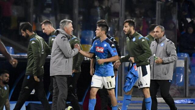 Bunt w Napoli. Trener i piłkarze przeciwko decyzji prezydenta
