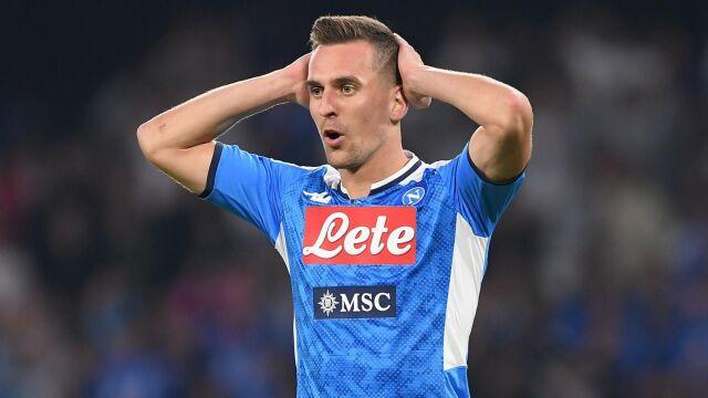 Milik wrócił do treningów na pełnych obrotach. Występ z Udinese wciąż niepewny