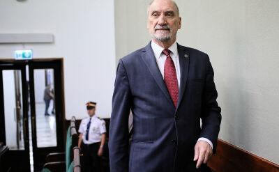 Macierewicz o Piotrowiczu: przeszłość jest ważna, ale też ważne jest jak się ją interpretuje