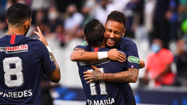 PSG z Pucharem Francji po nerwowym i brutalnym meczu