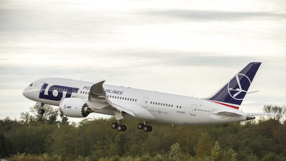 Pierwszy polski Dreamliner wzbił się w powietrze