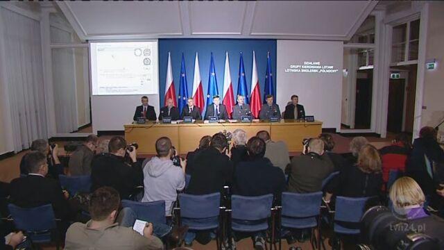 Konferencja Komisji Jerzego Millera cz. I (TVN24)
