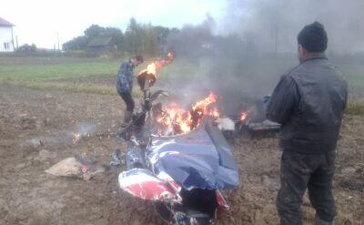 Samolotem leciały dwie osoby