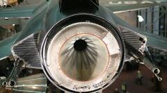 Dysza silnika X-15 w zbliżeniu