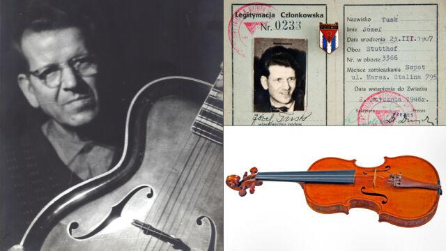 Zdjęcia, dokumenty i skrzypce. Aukcja pamiątek po dziadku Donalda Tuska