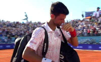 Djoković ze łzami w oczach pożegnał się z widownią w Belgradzie