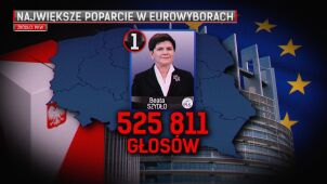 Rekordzistka Szydło. Jak zapracowała na ponad pół miliona głosów