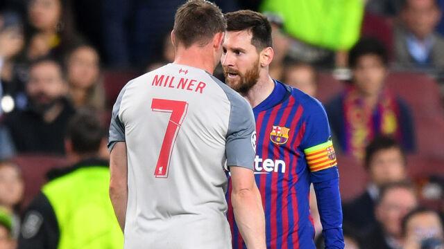 """""""Messi nazwał mnie osłem"""". Piłkarz Liverpoolu zdradza kulisy półfinału"""