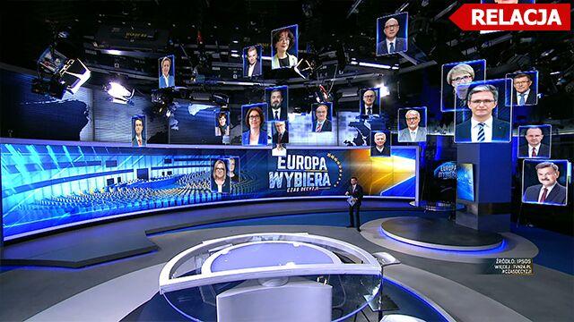 Europa wybrała. Wieczór wyborczy w TVN24 i tvn24.pl
