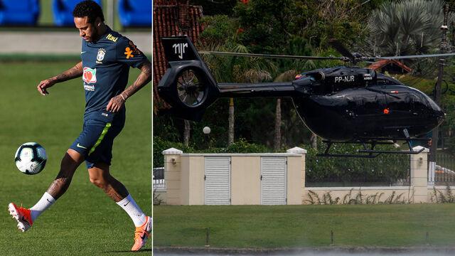 "Najnowsza zabawka Neymara. ""Helikopter Batmana"" wart 13 mln euro"