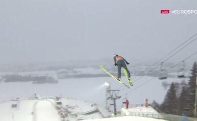 Riiber pierwszy po niedzielnym konkursie skoków do kombinacji norweskiej w Lillehammer