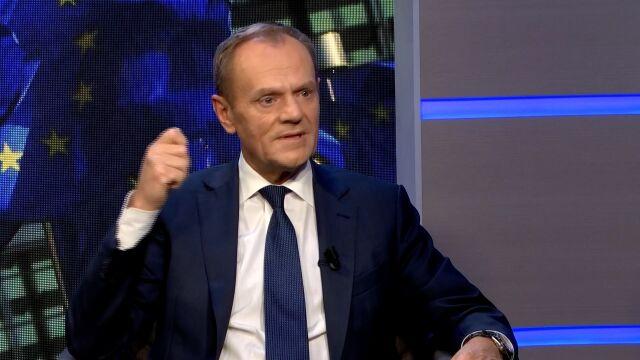 Donald Tusk o anulowanym głosowaniu przez Elżbietę Witek