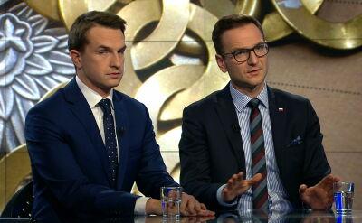 Adam Szłapka i Waldemar Buda o ewentualnej zmianie konstytucji w związku z dymisją Mariana Banasia