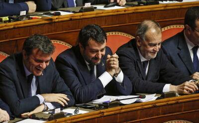 """Matteo Salvini liczy na pomoc """"węgierskich i polskich przyjaciół"""""""