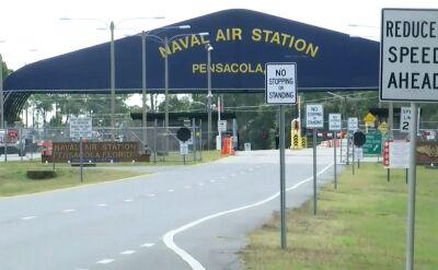 Napastnik otworzył ogień w bazie marynarki wojennej na Florydzie