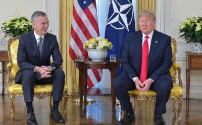"Jens Stoltenberg o śniadaniu z Donaldem Trumpem. ""Płaciły - jak zawsze - Stany Zjednoczone"""