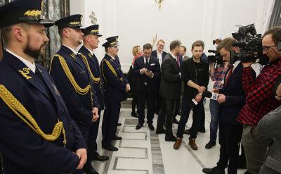 """Kancelaria Sejmu: nowy komendant Straży Marszałkowskiej """"niebawem"""""""