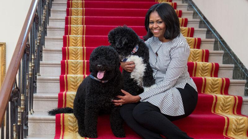 Michelle Obama na ostatnim spacerze po Białym Domu