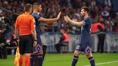 Zachowanie Messiego zaskoczyło piłkarza PSG.
