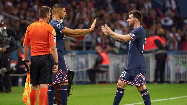 """Zachowanie Messiego zaskoczyło piłkarza PSG. """"Jest zwyczajny i cichy"""""""