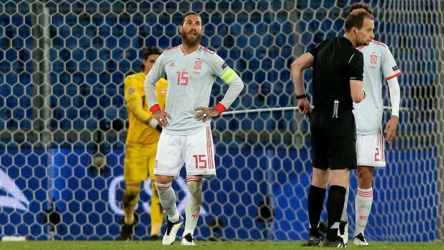 Koszmar Ramosa. Hiszpanie wyrwali punkt w 89. minucie
