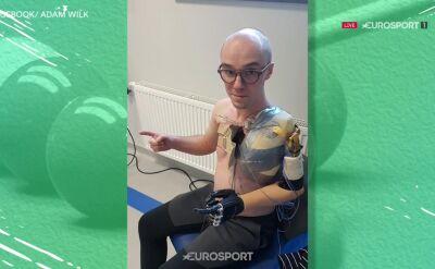 Adam Wilk o ograniczeniach związanych ze swoją niepełnosprawnością