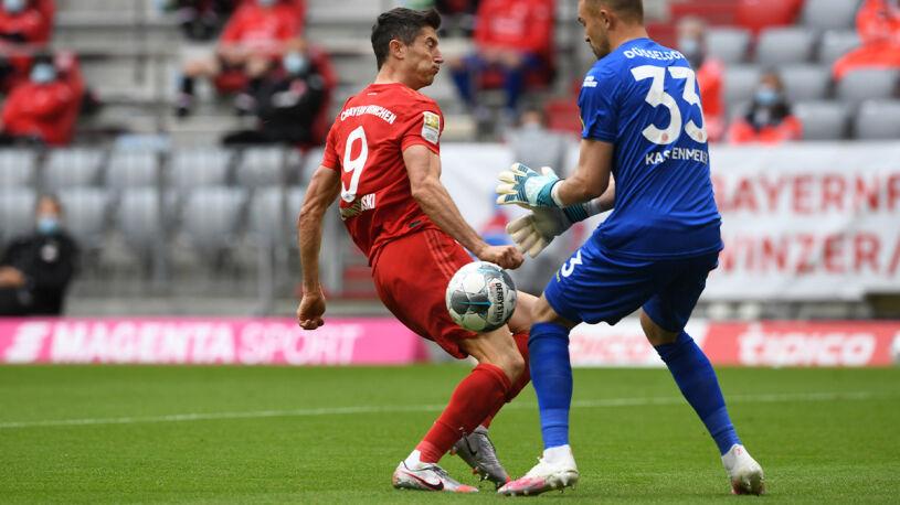 Piękne gole i show Lewandowskiego. Bayern zdemolował Fortunę