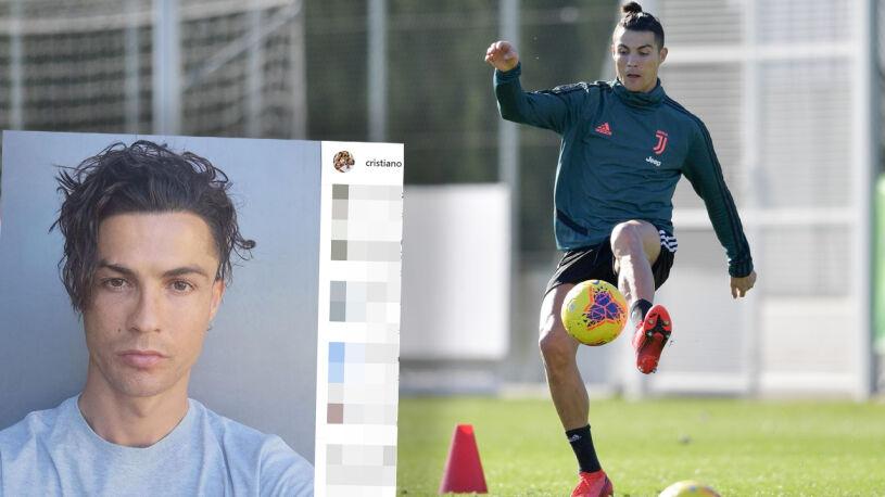 Ronaldo znów zmienił fryzurę. Wygląda jak na początku kariery