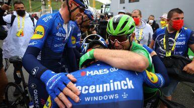 Łzy na mecie Tour de France.