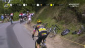 Problemy Roglicia na 7. etapie Tour de France