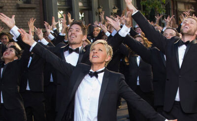 Ellen DeGeners zapowiada Oscary 2014