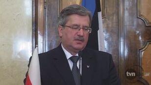 Prezydent o udziale NATO w operacji w Libii