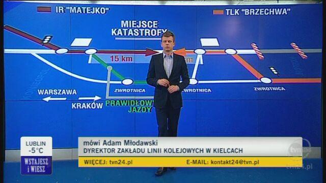 Mołdawski: Wiem, że taka usterka została zarejestrowana (TVN24)