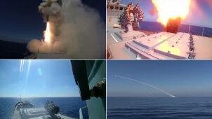 Admirał Essen i Krasnodar odpaliły rakiety. Rosjanie chwalą się sukcesem