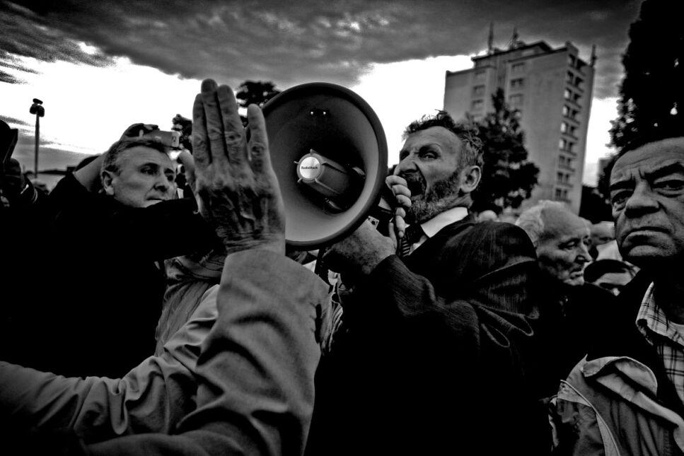 """Piotr Wittman, """"Kolejna rocznica naszej Solidarności..."""", nagroda w kategorii """"Wydarzenie"""""""