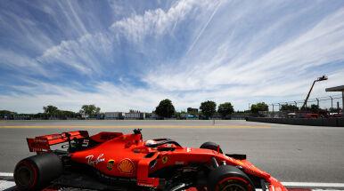 Hamilton odrobił tylko część strat. Najlepszy znów duet Ferrari