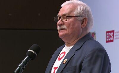 Wałęsa: los dał Polakom drugą szansę, aby zacząć budowę nowych rozwiązań na te czasy