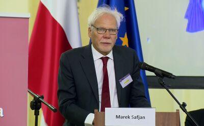 Prof. Safjan: działania organów prawa powinny budzić smutek i niepokój