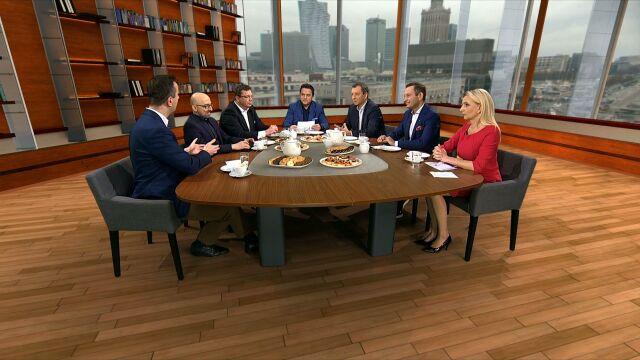"""Spór na linii prezydent-minister rozgrzał dyskusję polityków w """"Kawie na ławę"""""""