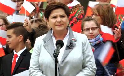 Beata Szydło w spotach PiS