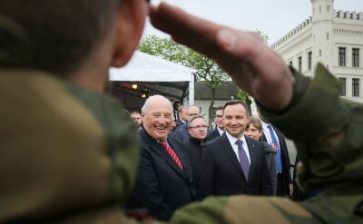 Duda: NATO powinno zwiększyć obecność na wschodniej flance