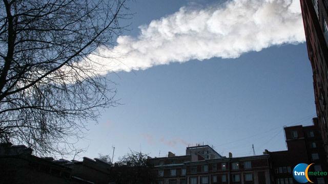 Deszcz meteorów nad Rosją
