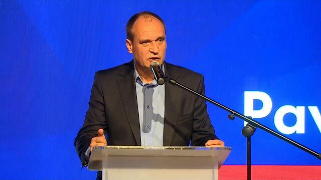 Paweł Kukiz na konwencji w Koziegłowach
