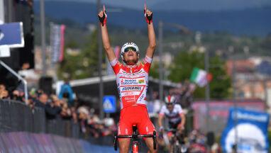 Włosi świętują. Ich kolarz wygrał etap, drugi został nowym liderem Giro